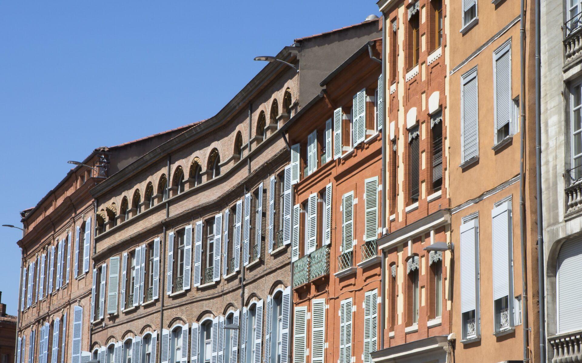 Façades de Toulouse- Manuel Huynh